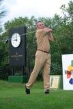 Johann Cruyff przy golfowym turniejem obrazy royalty free