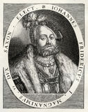 Johann Friedrich Dera Grossmtig, John Frederick Ja fotografia stock