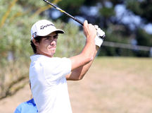 Johann Lopez Lazaro at the Pleneuf Val Andre golf Challenge 2013 Stock Photos