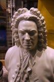 Johann Sebastian Bach bust Royalty Free Stock Images