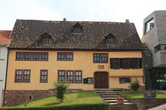 Johann Sebastian Bach House Stock Photography