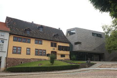 Johann Sebastian Bach House Stock Photography
