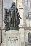 Johann Sebastian Bach Statue Royalty Free Stock Images