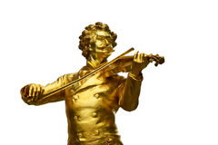 Johann Strauß com violino Fotografia de Stock