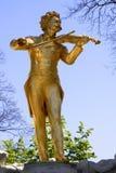 Johann Strauss landmark from Vienna Royalty Free Stock Photography