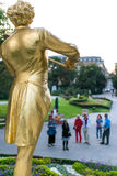 Johann Strauss Monument Stockfoto