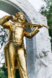 Johann Strauss Monument Royalty Free Stock Photo