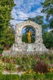 Johann Strauss Monument, Vienna Stock Photography