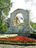Johann Strauss Monument, Vienne, Autriche Photographie stock