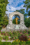 Johann Strauss Monument, Wien Stockfotografie