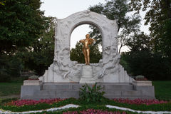 Johann Strauss sculpture in Vienna, Austria Royalty Free Stock Images