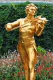 Johann Strauss statue Royalty Free Stock Images
