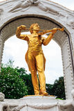 Johann Strauss statue in Mini Siam Park Royalty Free Stock Images