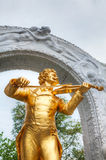 Johann Strauss statue at Stadtpark in Vienna Royalty Free Stock Image