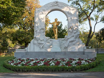 Johann Strauss Statue in Vienna Royalty Free Stock Photo