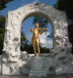 Johann Strauss - Vienna royalty free stock photography