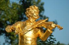 Johann Strauss Vienne Images libres de droits