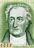 Johann Wolfgang von Goethe Stock Image