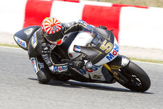 Johann Zarco racing Royalty Free Stock Images