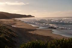 Johanna Beach View Royaltyfri Fotografi