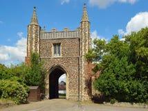 Johannes Abbey Gate Colchester Stockfotografie