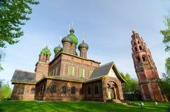Johannes Baptist Church in der Stadt von Yaroslavl, Russland Lizenzfreie Stockfotos