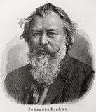 Johannes Brahms Photographie stock libre de droits