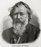 Johannes Brahms Fotografia de Stock Royalty Free