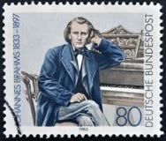 Johannes Brahms Stock Image