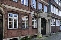 Johannes Brahms Museum, Hamburg, Germany. Royalty Free Stock Photo