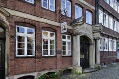 Johannes Brahms Museum Hamburg, Tyskland royaltyfri foto