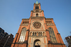 Johannes church duesseldorf germany Stock Photography