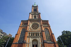 Johannes Church in Dusseldorf Royalty Free Stock Photo