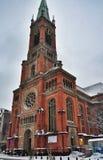 Johannes Church in Dusseldorf Stock Photos