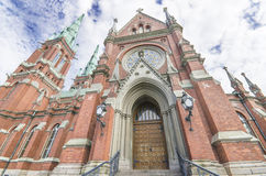 Johannes church in helsinki Royalty Free Stock Photos