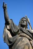 Johannes der Baptist auf Charles Bridge in Prag lizenzfreie stockfotografie