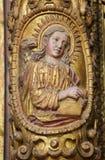 Johannes der Evangelist, Aveiro-Kathedrale, Centro, Portugal Lizenzfreie Stockfotos