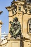The Johannes Gutenberg monument on the southern Rossmarkt in Fra Royalty Free Stock Image
