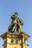 The Johannes Gutenberg monument on the southern Rossmarkt in Fra Royalty Free Stock Photography