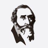 Johannes Kepler - astrônomo e astrólogo Fotos de Stock Royalty Free