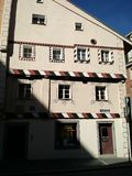 Johannes Kepler hus, Regensburg, Tyskland royaltyfria foton