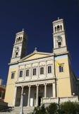 Johannes-Kirche - Syros Stockfoto