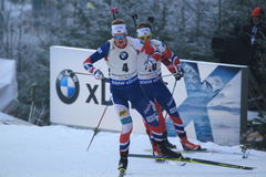 Johannes Thingnes Boe - biathlon Stock Fotografie