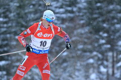 Johannes Thingnes Boe - biathlon Royalty Free Stock Photos
