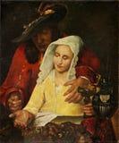 Johannes Vermeer Jan Vermeer van Haarlem Holland 1628-1691 Efter Stock Foto's