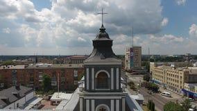 Johannes von Dukla Roman Catholic Church in Ukraine, Kyiv-Zhytomyr im Juli 2016 stock video
