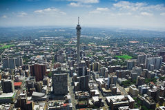 Johannesburg céntrica Imagenes de archivo