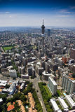 Johannesburg CBD - Aerial View Stock Images