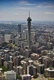 Johannesburg CBD - Aerial View - 1B Stock Photo