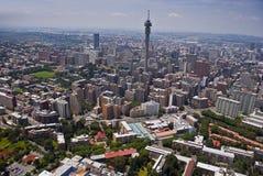 Johannesburg CBD - Luftaufnahme - 3B Lizenzfreie Stockfotos